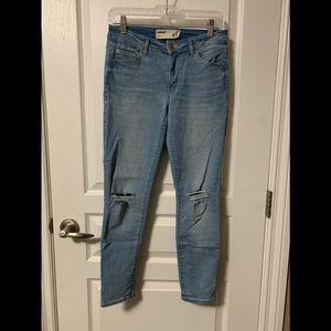 Light wash jeans (garage)